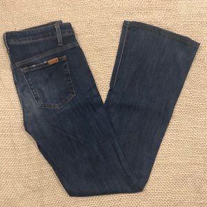 Joes Dark Wash Skinny Bootcut Jeans
